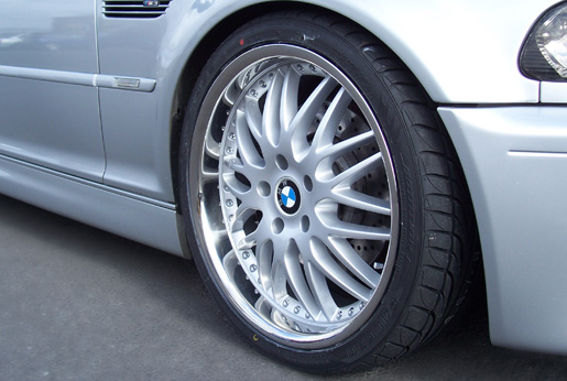 Bmw wheel veloce xs in sterling silver